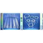 Трубы из прозрачного кварцевого стекла марки С5-1 фото