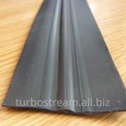 Привальный брус плоский ,ширина 60мм. чёрный. фото