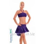 Dance Me Юбка для латины ЮЛ207-Кр женская, масло, фиолетовый фото