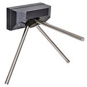 Т7М1 Турникет-трипод навесной, серебряный антик фото