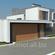 Строительство загородного дома. фото