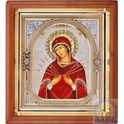 Иконы Богородицы, Спасителя, святых в деревянном окладе фото