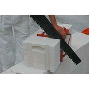 Ножовка для резки ячеистого бетон фото