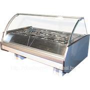 Тепловое оборудование. Горячий прилавок витрина фото