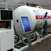 Модуль для заправки автомобилей сжиженным газом ГРК 10 (АГЗС) с топливно раздаточной колонкой SHELF 1, 10м3. фото