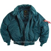 Зимняя куртка синего цвета фото