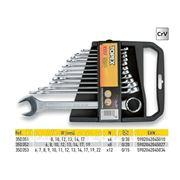 Набор ключей комбинированных TOPEX 35D351 - 35D352 - 35D353 фото