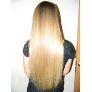 Коррекция нарощенных волос фото