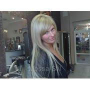 Наращивание волос. Итальянский метод на кератин. фото
