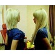 Снять нарощенные волосы фото