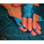 Коррекция ногтей гелем Киев фото