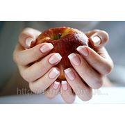 Укрепление ногтей с применением гелевой технологии (без маникюра) простой сложности фото