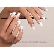Покрытие ногтей гель-лак френч фото