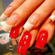 Коррекция гелевых ногтей, наращивание гелевых ногтей фото
