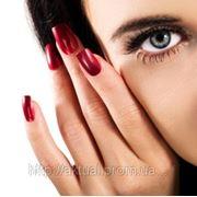 Перенаращивание ногтей (снятие ногтей; наращивание под покрытие лаком) фото