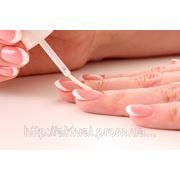 Коррекция ногтей с применением гелевой технологии под покрытие лаком фото