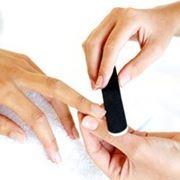 Коррекция натуральных ногтей с применением гелевой технологии повышенной сложности фото