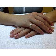 Снятие ногтей с применением акриловой технологии (снятие + маникюр + покрытие лаком; 1 ч. – 1 ч. 30 мин.) фото