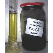 КАМАЗовское моторное минеральное масло после регенерации: результат очистки за один прогон, после регенерации масло попадает в ГОСТ фото