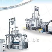 Отжимная продольно-резальная машина с плюсованием ткани врасправку DMS фото