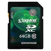Карта памяти Kingston SDX10V/64GB фото