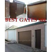 Ворота секционные фото