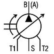 Гидронасос регулируемый с наклонным блоком 313.3.112, 313.4.112. Гидрнасос регулируемый 313.3.112, 313.4.112 фото