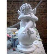 Скульптура «Ангел на шаре» для памятника фото