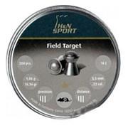 Пули пневматические H&N Field Target 5,5мм 1,06 грамма (200 шт.) headsize 5,50 мм фото