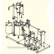 Экстракционно-дистилляционная установка (режим Аламбик) фото
