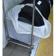 Мешки из полиэтилена для упаковки автошин дисков. Упаковка для автомобильных шин и дисков. фото
