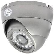 Видеокамера AVD-650IR-20G/3,6 цветная купольная фото