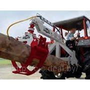 HRZ Fix — Трелевочный грейферный захват ствола древесины BGU (Германия) фото