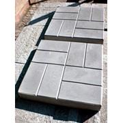 Тротуарная плитка 400*400х*50 мм восьмерка мелкая шагрень фото