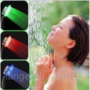 Подсветка воды для душа (от температуры) насадка светящийся душ c датчиком фото