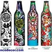 Декорирование бутылок для слабоалкогольных напитков фото