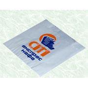 Пакеты бумажные с плоским дном (саше) возможно нанесение печати фото