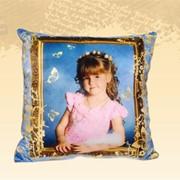Печать на подушках фото