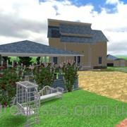 Визуализация в программе Landscape RealTime фото