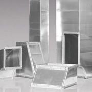 Воздуховод прямоугольный и фасонные части фото