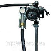 Насос DRUM TECH 60, 220В, 60 л/мин, для перекачки дизельного топлива (дизеля, ДТ) из бочки без счетчика КИЕВ фото