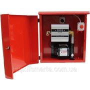 Високопродуктивна заправна колонка для дизельного палива в металевому ящику ARMADILLO 100, 220В, 100 л / хв фото