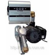 DRUM TECH - Насос з лічильником (витратоміром), для перекачування дизельного палива, 220В, 60 л / хв фото