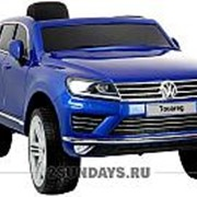 Детский электромобиль Dake VW Touareg Blue 12V 2.4G - F666-BLUE фото