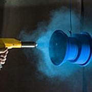 Полимерно-порошковая покраска автомобильных дисков фото
