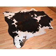 Шкура коровья бело-коричневый (рыжый) купить фото
