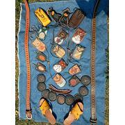 Орнамент на изделиях из кожи, плетение кожаным шнуром фото