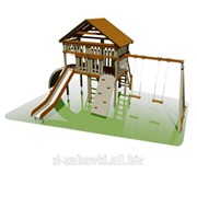 Игровой комплекс детский с домиком фото