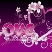 "Вафельная картинка ""LOVE "" фото"