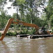 Очистку прудов, озер фото